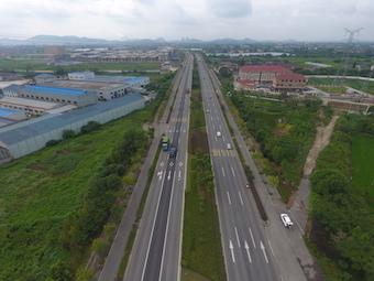 长兴104国道改造工程